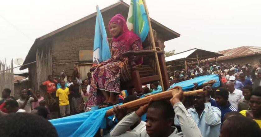 Beni : Fatuma Sheila  contre la traque des pêcheurs congolais par la marine ougandaise