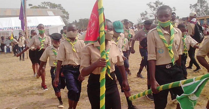 BENI:Le mouvement scout active la sensibilisation contre les anti valeurs