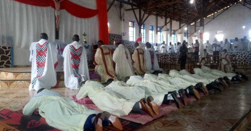 Butembo : 11 diacres ordonnés Prêtres