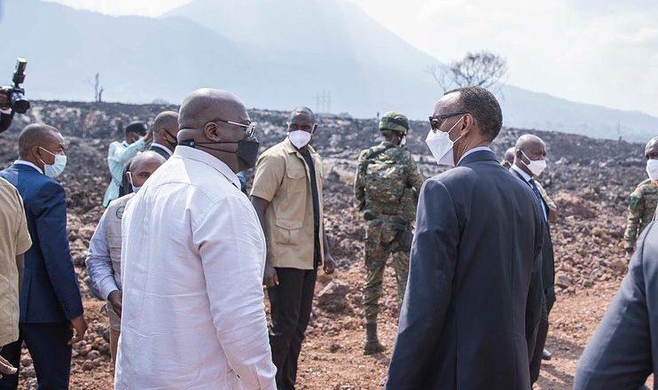 RDC-Rwanda : Voici les 3 accords signés par Félix Tshisekedi et Paul Kagame