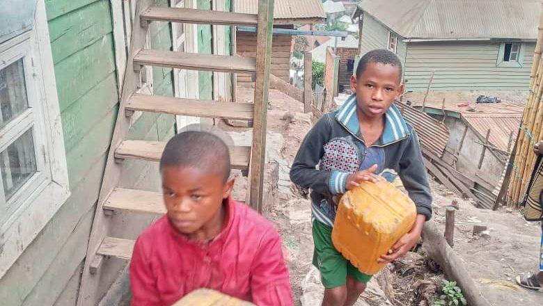Sud-kivu :  Pénurie en eau potable dans une partie de la commune de kadutu à Bukavu
