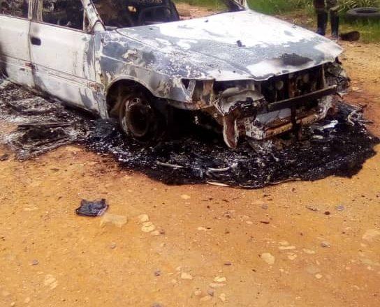 Ituri : l'un des chauffeurs embusqués au niveau de Manzobe trouvé brûlé vif dans son véhicule