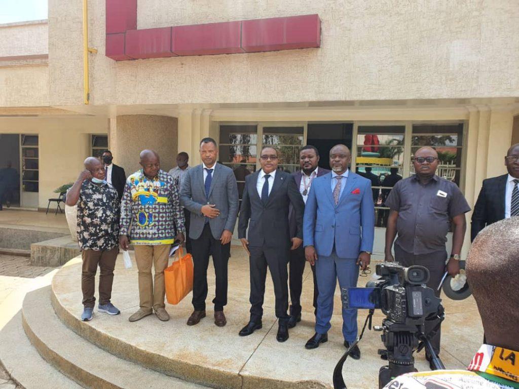Sud-Kivu : spoliation présumée du terrain de Mwenga par des Chinois, le gouverneur de province a reçu des élus nationaux en mission dans cette province