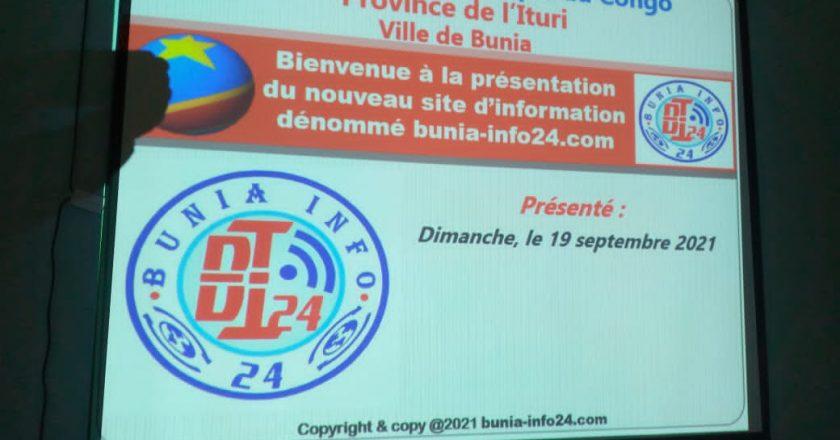 Ituri : «Buniainfo24.com», c'est le nouveau média en ligne qui a été lancé officiellemet ce dimanche