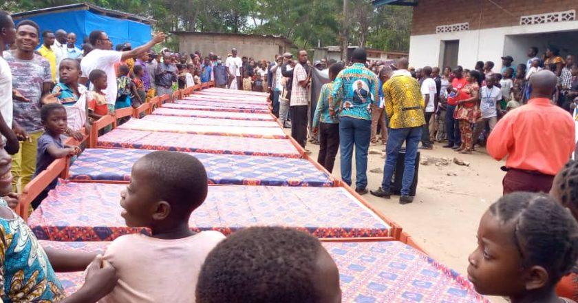 Sud-Kivu : le centre de santé de Lweba à Fizi doté d'une dizaine de lits pour les malades