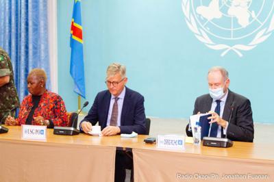 """Nord-Kivu : Jean-Pierre Lacroix salue """"les résultats acquis"""" de la coopération FARDC-MONUSCO"""