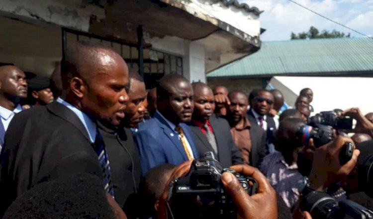 RDC-ESU : S.E Muhindo Nzangi Butondo s'est adressé aux étudiants  du campus du Lac à Goma