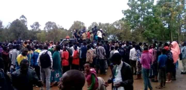 Bukavu : l'arrestation des hommes armés à l'UOB par les étudiants à la base d'une panique